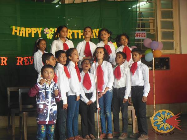 Rev.Fr. Milton Birthday Celebration(Primary)