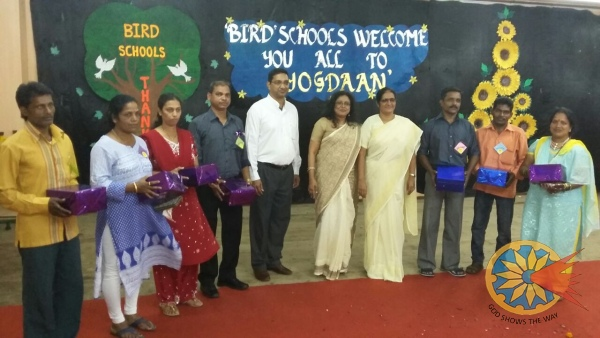 Felicitation of Support staff by 'BIRD' Committee