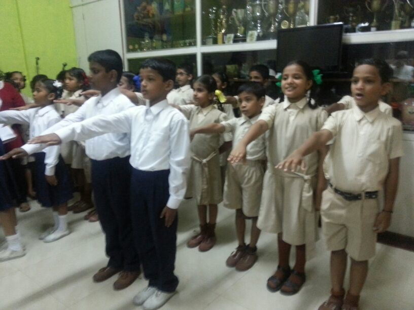Investiture Ceremony Primary Section