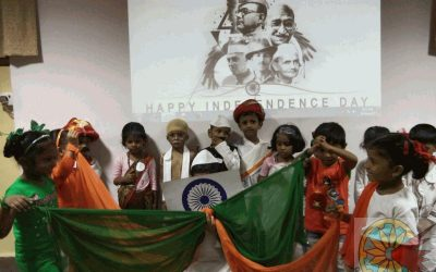 K.G. Fancy dress competition 14th August 2017 (National Leaders day)