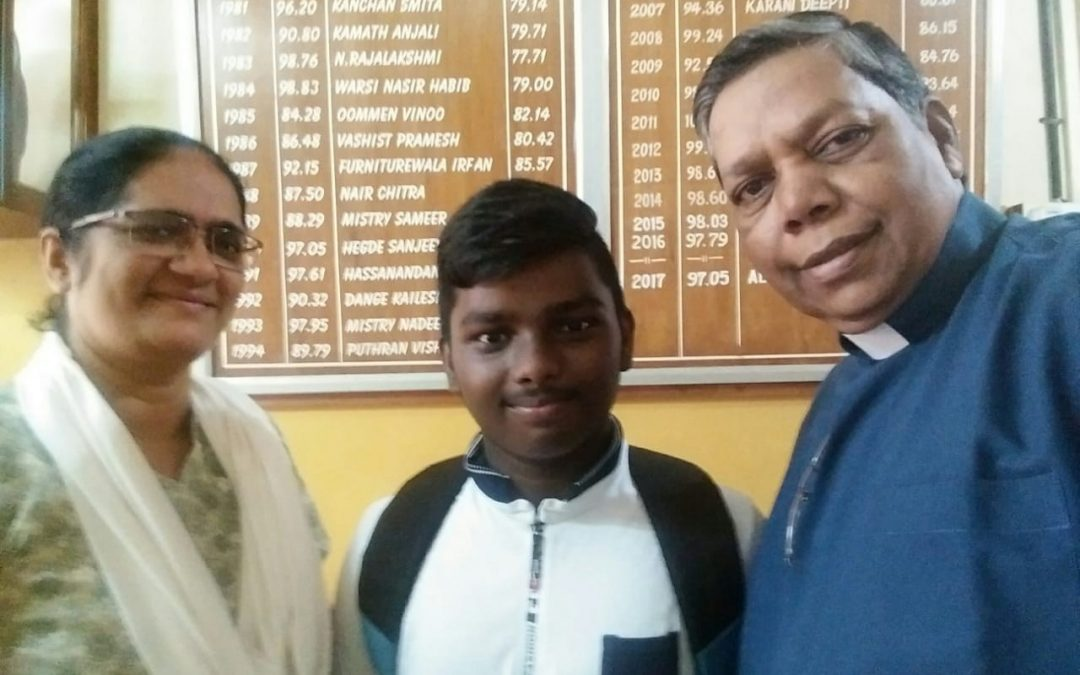 Our SSC topper 2018 Kushnapelli Thirupatti  93.20%