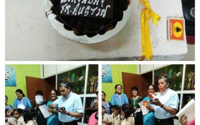 Manager's Birthday celebration