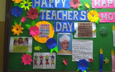 Teacher's Day celebration.