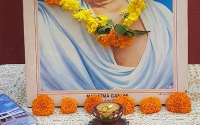 Gandhi Jayanti Celebration.