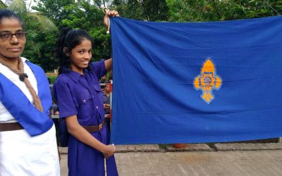 Scout and guide camp.